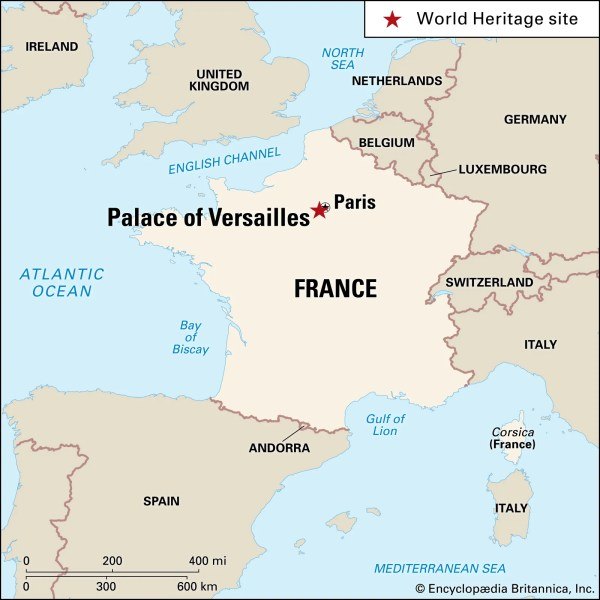 Palace of Versailles History Facts Britannicacom