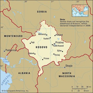 Kosovo | History, Map, Flag, Population, Languages, & Capital ...