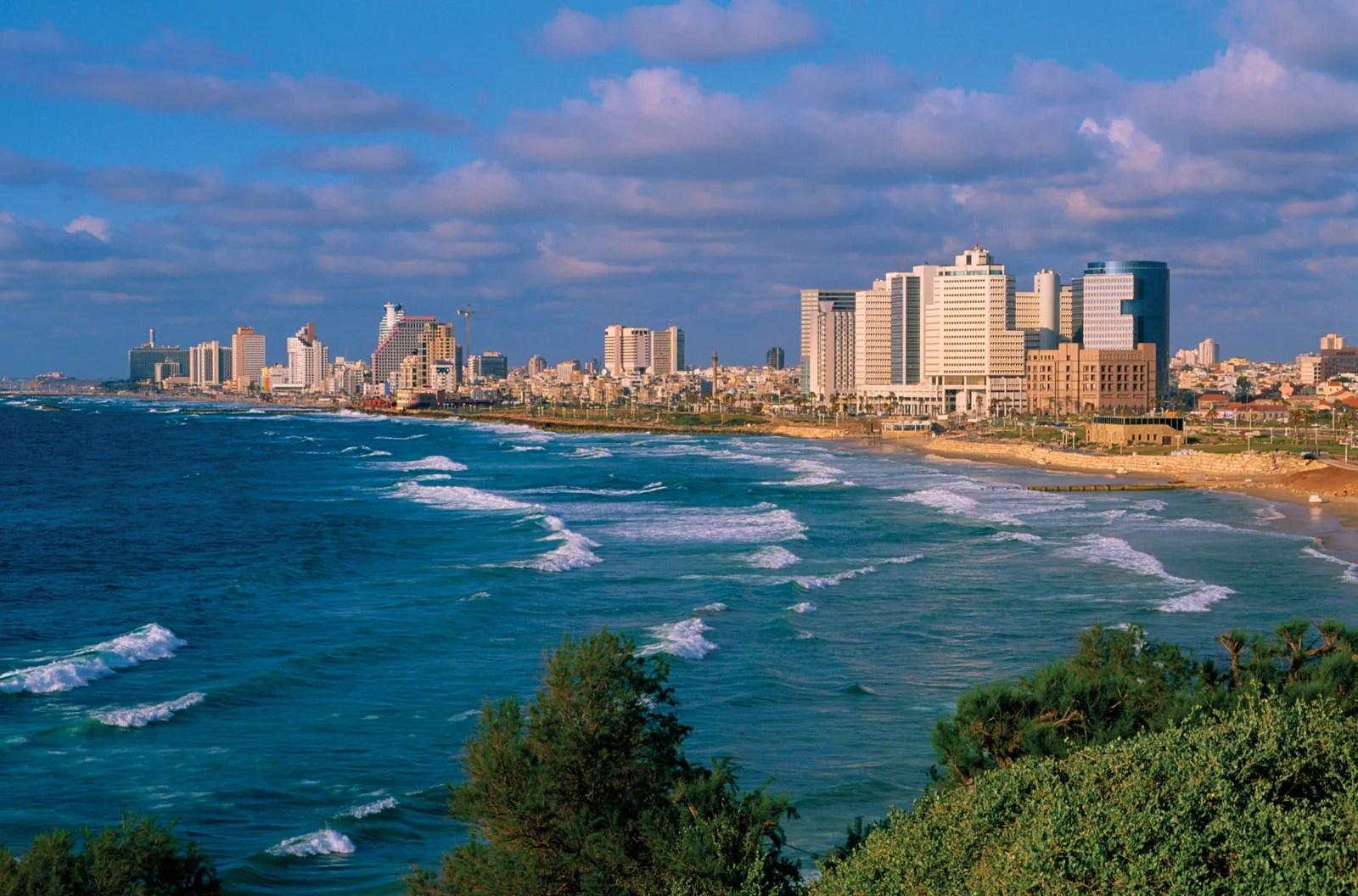 Tel Aviv Yafo History Population Points Of Interest