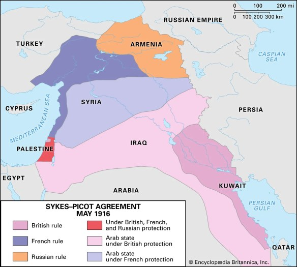 Sykes-Picot Agreement | Map, History, & Facts | Britannica