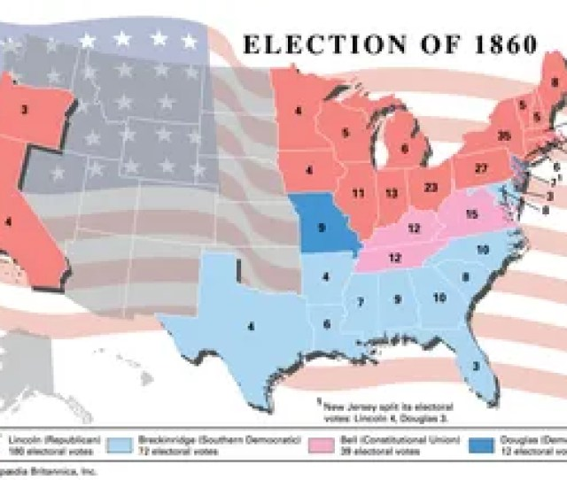 American Presidential Election 1860