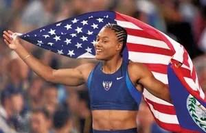 Marion Jones American Athlete