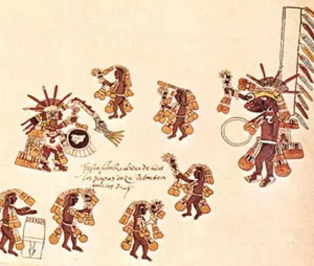 Aztec Round Dance For Quetzalcoatl And Xolotl A Dog Headed God Who Is Quetzalcoatls