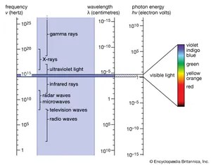 what is a frequency diagram human central nervous system electromagnetic spectrum definition uses britannica com