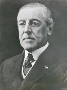 Woodrow Wilson President Of United States
