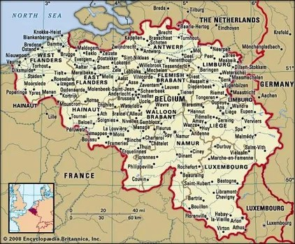 belgium facts geography and