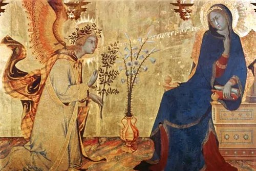 the annunciation painting by