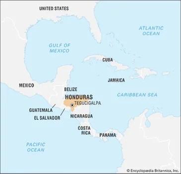 honduras history geography culture