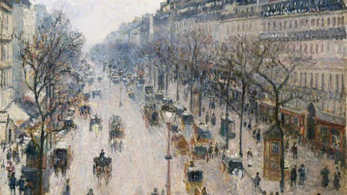 Pissaro, Camille: The Boulevard Montmartre on a Winter Morning