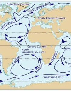 Major surface currents of the world   oceans subsurface also move vast amounts water ocean current britannica rh