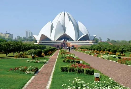 lotus temple temple new