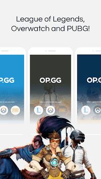 OP.GG for League/ PUBG/ Overwatch APK Download For Free