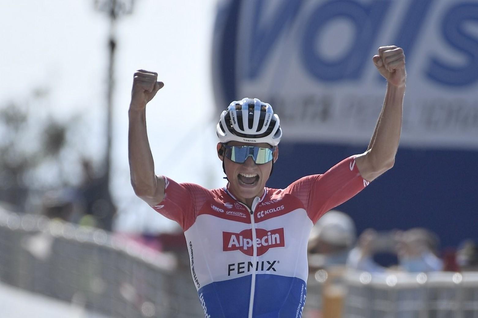 van der poel wants to win a stage of