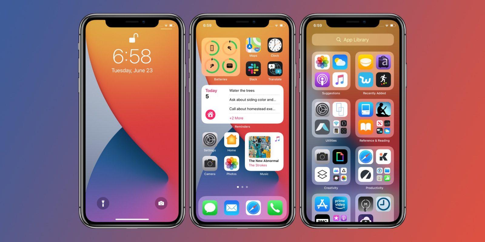 iOS 14 Beta 2