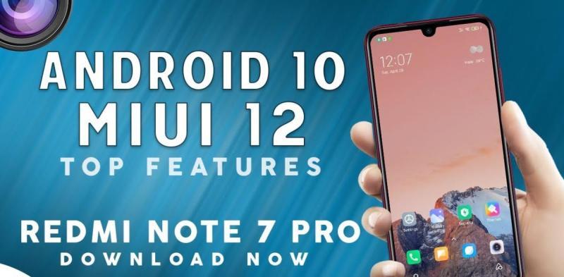 Note 7 Pro MIUI 12