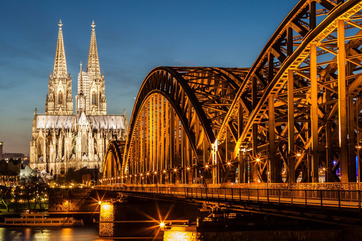 Cologne Travel Costs  Prices  Koln Rhine River Locking