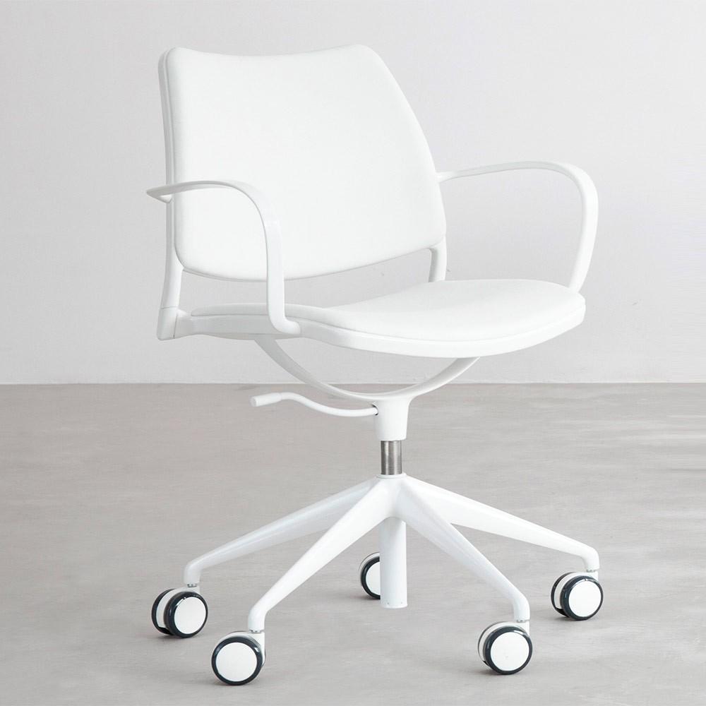 Las mejores sillas de oficina blancas  Comparativa del