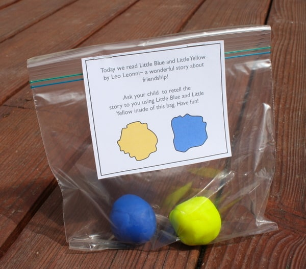 Fun With Little Blue And Little Yellow By Leo Lionni And