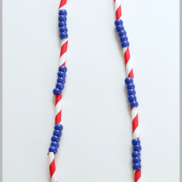 Patriotic Necklace Craft