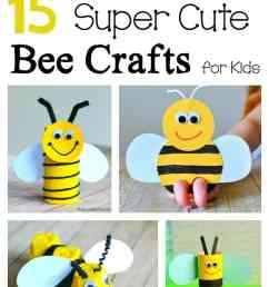 15 Bee Crafts for Kids - Buggy and Buddy [ 1544 x 700 Pixel ]