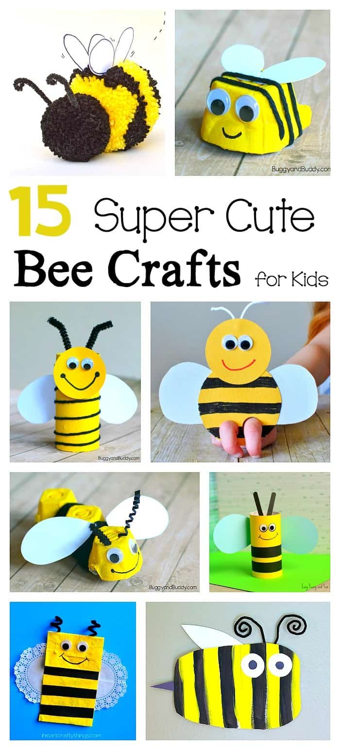 medium resolution of 15 Bee Crafts for Kids - Buggy and Buddy