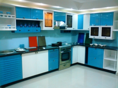 high top kitchen table set solid surface sinks buildmantra.com: l-shaped glossy finish modular ...