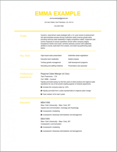 Perfect Resume Templates Build Perfect Resumes