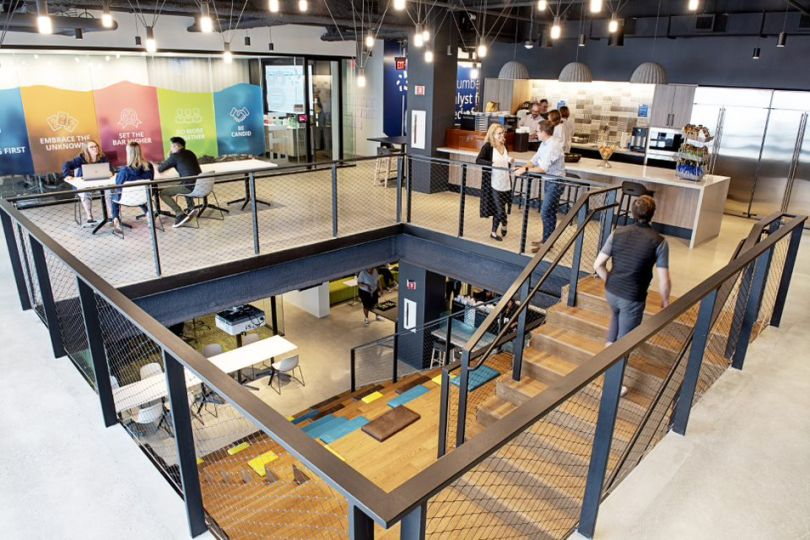 cengage just moved into