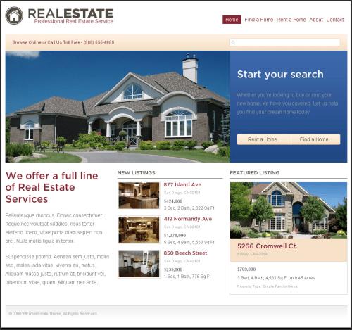 Content Marketing for Real Estate Agents: Can Blogging Help You Sell Homes? image real estate website on blog platform