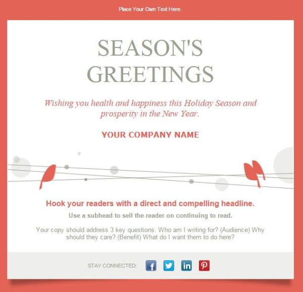 7 Email Templates To Drive Results This Holiday Season