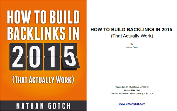 Backlinking Guide 2015