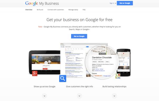 Google webmaster tools Places