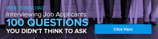 Free Download: Interviewing Job Applicants: 100 Questions You Didn