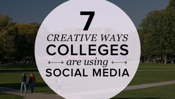 college social media campaigns