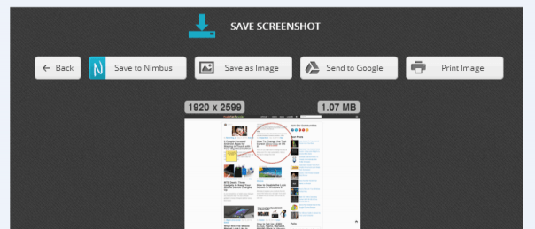 nimbus screenshot plugin for marketers