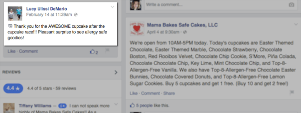 mama bakes safe cakes local participation small business