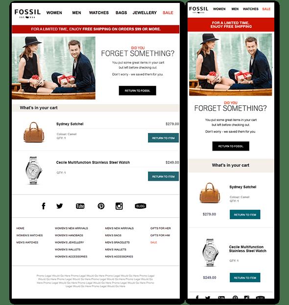 email marketing ideas responsive design