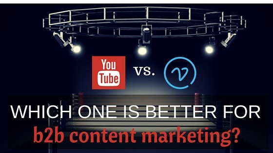 YouTube vs. Vimeo showdown in b2b content marketing