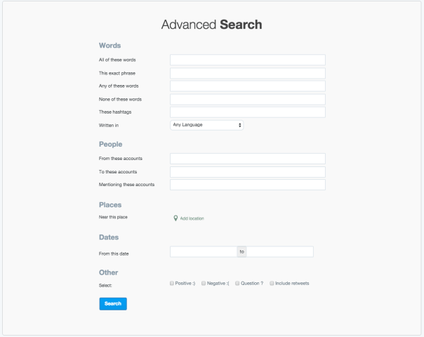 Use Advanced Search on Twitter for detailed listening.