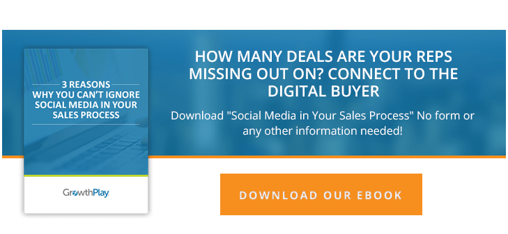 social media in the sales process