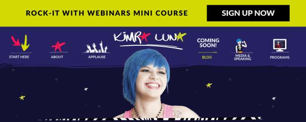 Kimra Luna lead magnet example