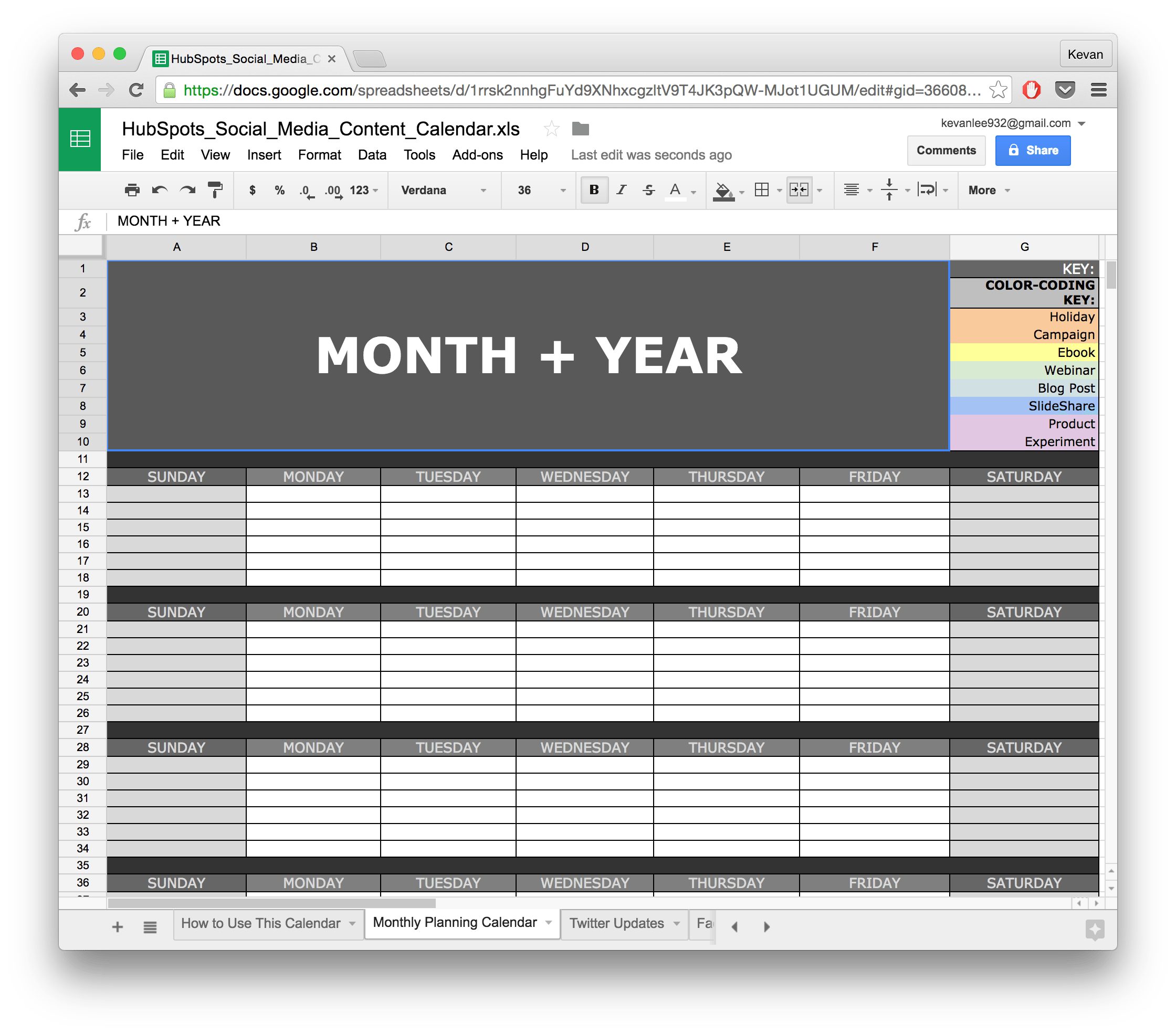 Take Back Your Time With These 10 Ready-Made Spreadsheet Templates ...