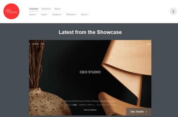 Web design inspiration siteInspire