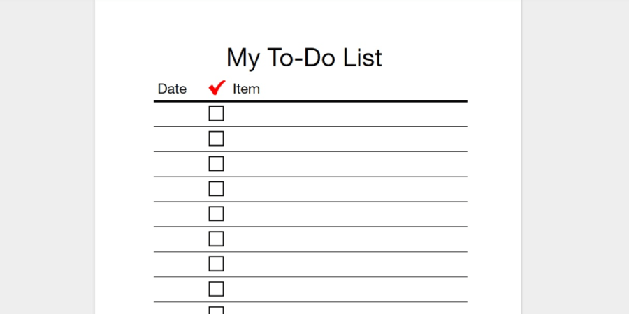 to do checklist template - April.onthemarch.co