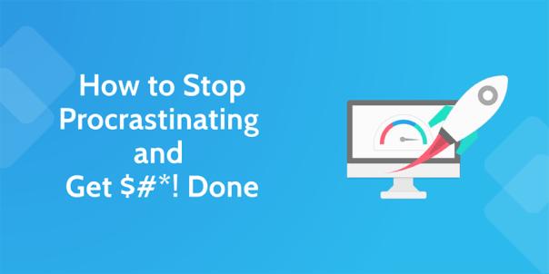 how to stop procrastinating - header 1