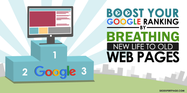 Boost Your Google Ranking on Old Web Pages