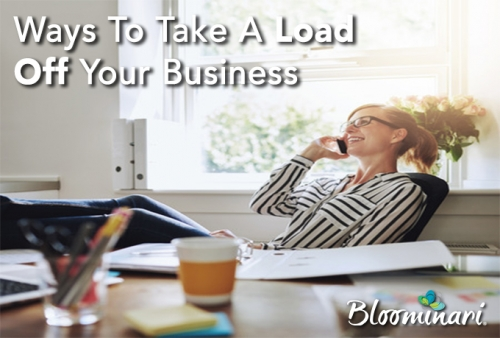 4 Ways to Take the Load off Your Small Business
