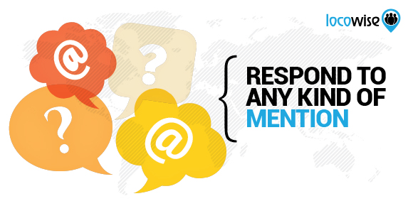 Respond to mentions