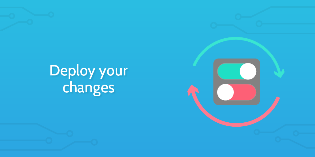 workflow analysis - deploy changes