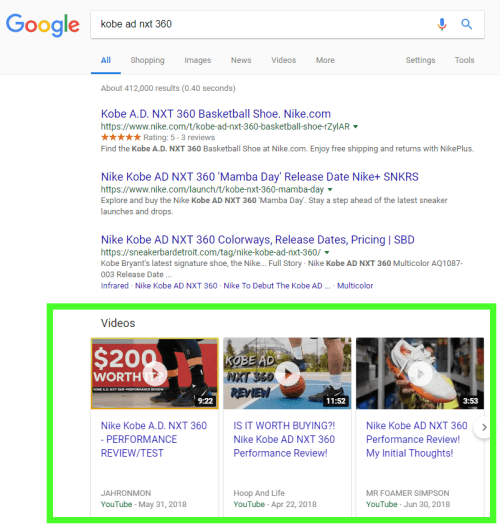 Video Search Results